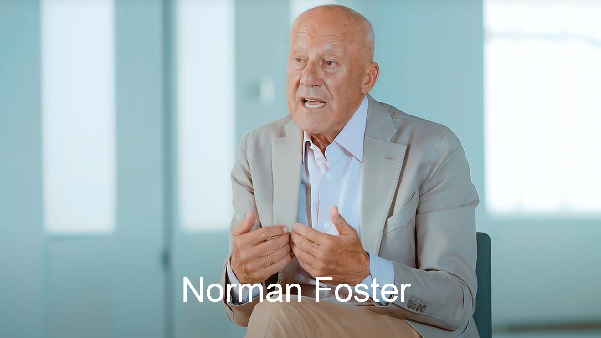 Norman Foster y Fundación Telefónica