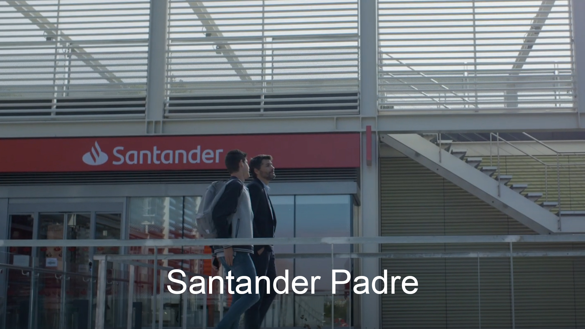Spot Santander Padre