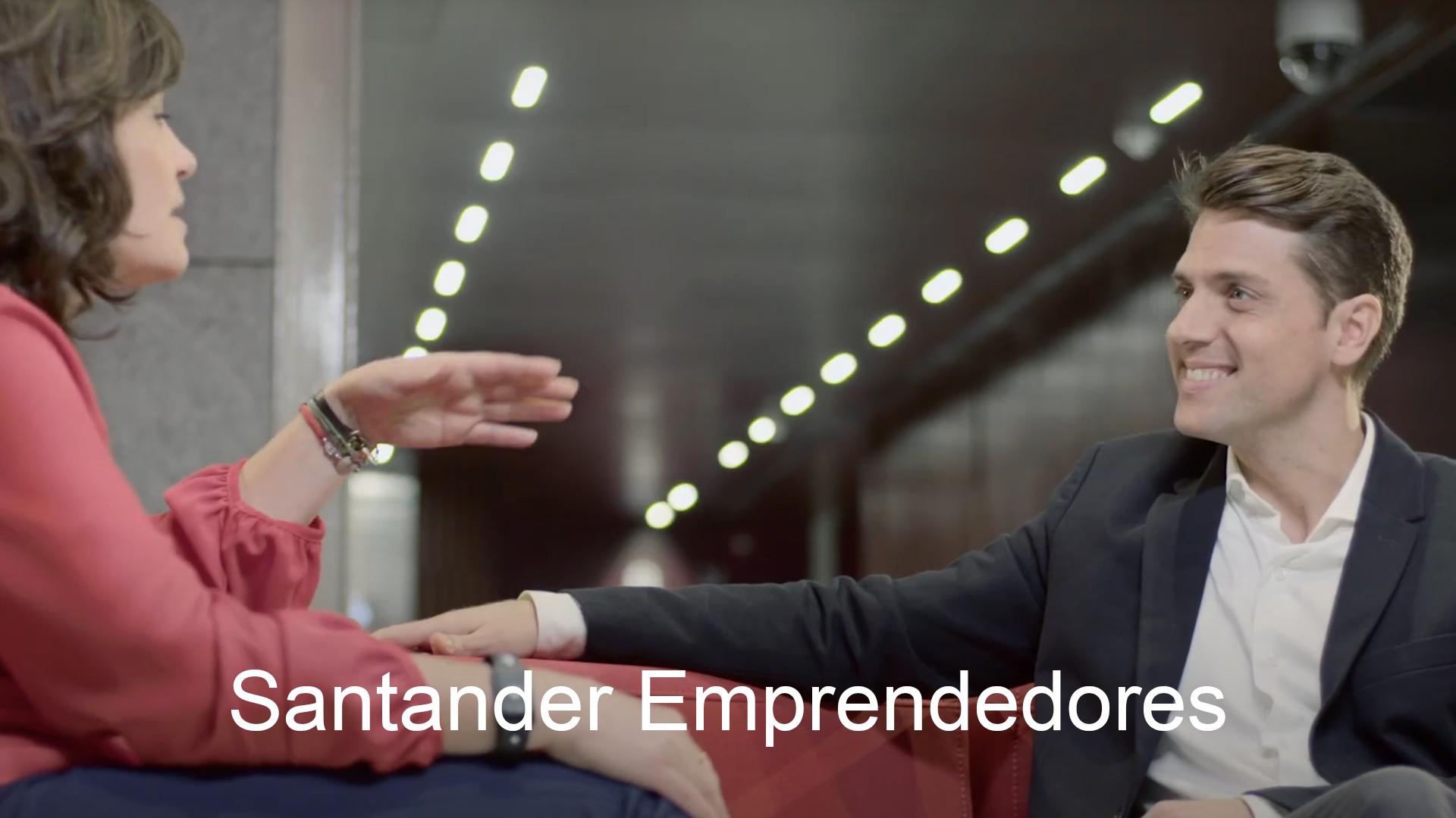Spot Santander Emprendedores